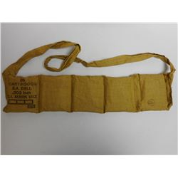 WWII 303 BRITISH AMMO IN BANDOLIER