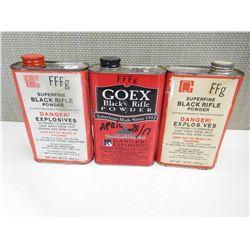 GOEX SUPERFINE BLACK RIFLE POWDER