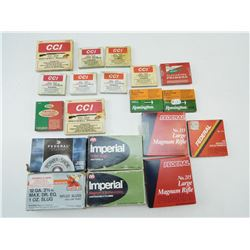 ASSORTED PRIMERS & SHOTGUN AMMO