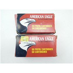 AMERICAN EAGLE 38 SPL & 357 MAGNUM AMMO
