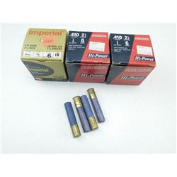 "ASSORTED 410 GA 2 1/2"" AMMO"