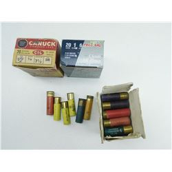 ASSORTED 20 & 16 GA AMMO