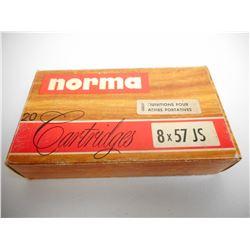 NORMA 8 X 57 JS