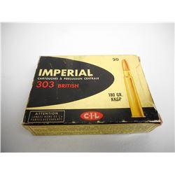 IMPERIAL 303 BRITISH AMMO