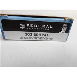 FEDERAL 303 BRITISH AMMO