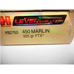 HORNADY 450 MARLIN AMMO