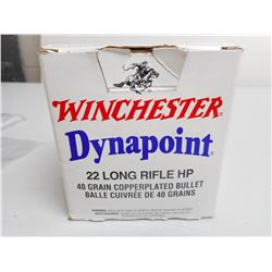 WINCHESTER DYNAPOINT 22 LR HP AMMO