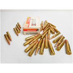 ASSORTED 308 WIN AMMO