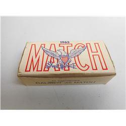 1965 MATCH 45 CAL AMMO