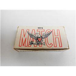 1974 MATCH 45 CAL AMMO