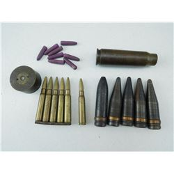 MILITARY TRAINING AMMO & CASE BOTTOM