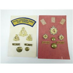 MILITARY PINS & BADGES