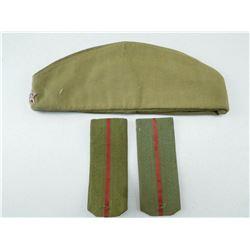 USSR SIDE CAP & EPAULETTES