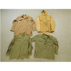 ASSORTED PULL OVER SHIRTS/JACKETS