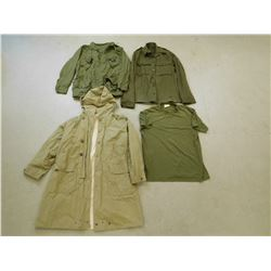 ASSORTED MILITARY TOPS