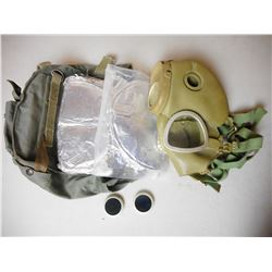 GAS MASK WITH BAG