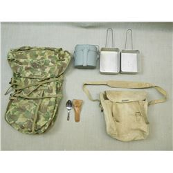 ASSORTED MILITARY GEAR