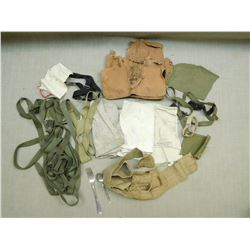 ASSORTED SLINGS, FABRIC & STRAPS