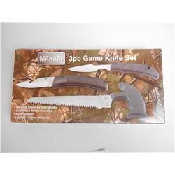 MAXAM 3 PC GAME KNIFE SET