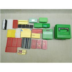 ASSORTED AMMO TRAYS & CONTAINERS