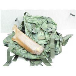 CAMO BACKPACK & HOLSTER