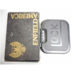 ASSORTED EMPTY GUN BOX/CASE