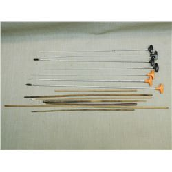 ASSORTED CLEANING RODS