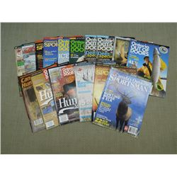 ASSORTED CANADIAN/ONTARIO OUTDOORS MAGAZINE