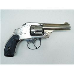 SMITH &WESSON , MODEL: 38 SAFETY HAMMERLESS THIRD MODEL (AKA LEMON SQUEEZER) , CALIBER: 38 S&W