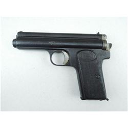FROMMER , MODEL: STOP , CALIBER: 9MM BROWNING SHORT