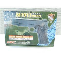 KWC M1911 A1 TAC MODEL AIR BB PISTOL