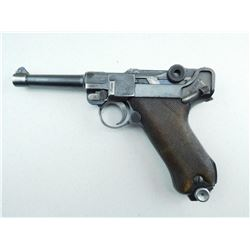 LUGER , MODEL: P08 DOUBLE DATED  , CALIBER: 9MM LUGER