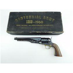 CENTENNIAL ARMS  , MODEL: COLT 1960 NEW MODEL ARMY REPRODUCTION  , CALIBER: 44 PERC