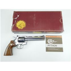 COLT , MODEL: PYTHON DOUBLE DIAMOND COLT 150TH ANNIVERSARY COMMEMORATIVE  , CALIBER: 357 MAG
