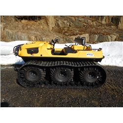 2014 ARGO 650HD 6 WHEEL WITH TRACKS, AND ARGO AMPHIBIOUS UTILITY TRAILER, RESERVE PRICE $11000.00