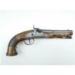 UNKNOWN  , MODEL: SINGLE SHOT PISTOL  , CALIBER: 54 CAL PERC
