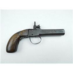 UNKNOWN , MODEL: SINGLE SHOT PERCUSSION PISTOL , CALIBER: 62 CAL PERC