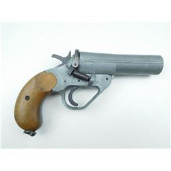 BRITISH NO 1 MARK IV FLARE GUN  , MODEL: SINGLE SHOT  , CALIBER: 26.5MM