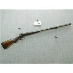 JANSSEN SONS & CO , MODEL: SIDE BY SIDE CARTRIDGE GUN  , CALIBER: 12 GA X 2 3/4