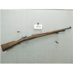 MAUSER , MODEL: 1938 SWEDISH SHORT RIFLE  , CALIBER: 6.5 X 55 SWEDISH MAUSER