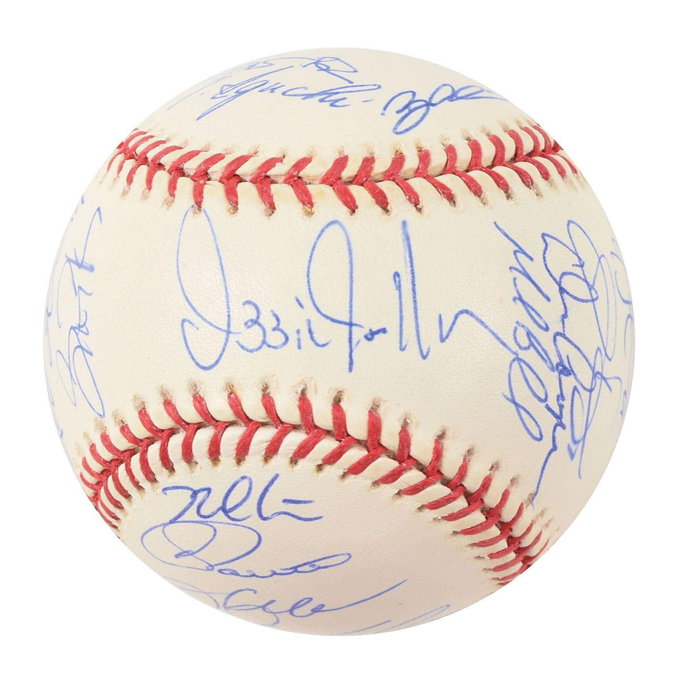 a448f6a72f8 ... Image 5   Chicago White Sox 2005 World Series Champions Team-Signed  Baseball with 26
