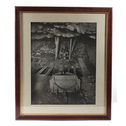 Original Butte, Montana Mining Photograph c.1940-