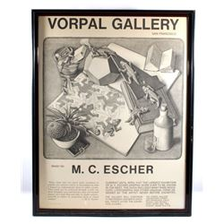 M.C. Escher Reptile - Vorpal Gallery Vendor Poster