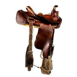 Tooled Crow Fair Championship Saddle