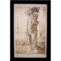 Original Chief Stinking Bear Cabinet Photograph