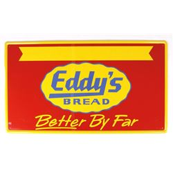 Eddy's Bread Tin Advertising Sign, Helena, MT RARE