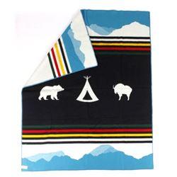 Pendleton Glacier Park 100th Anniversary Blanket