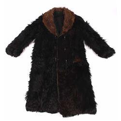 Stagecoach Driver Bear & Buffalo Fur Coat 19th