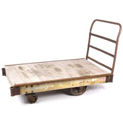 Early Mid-Century Modern Industrial Freight Cart