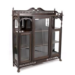 Early Eastlake Curio Cabinet c. 19th C- RARE